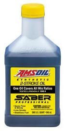 Amsoil Saber Professional 100:1 2 stroke Oil